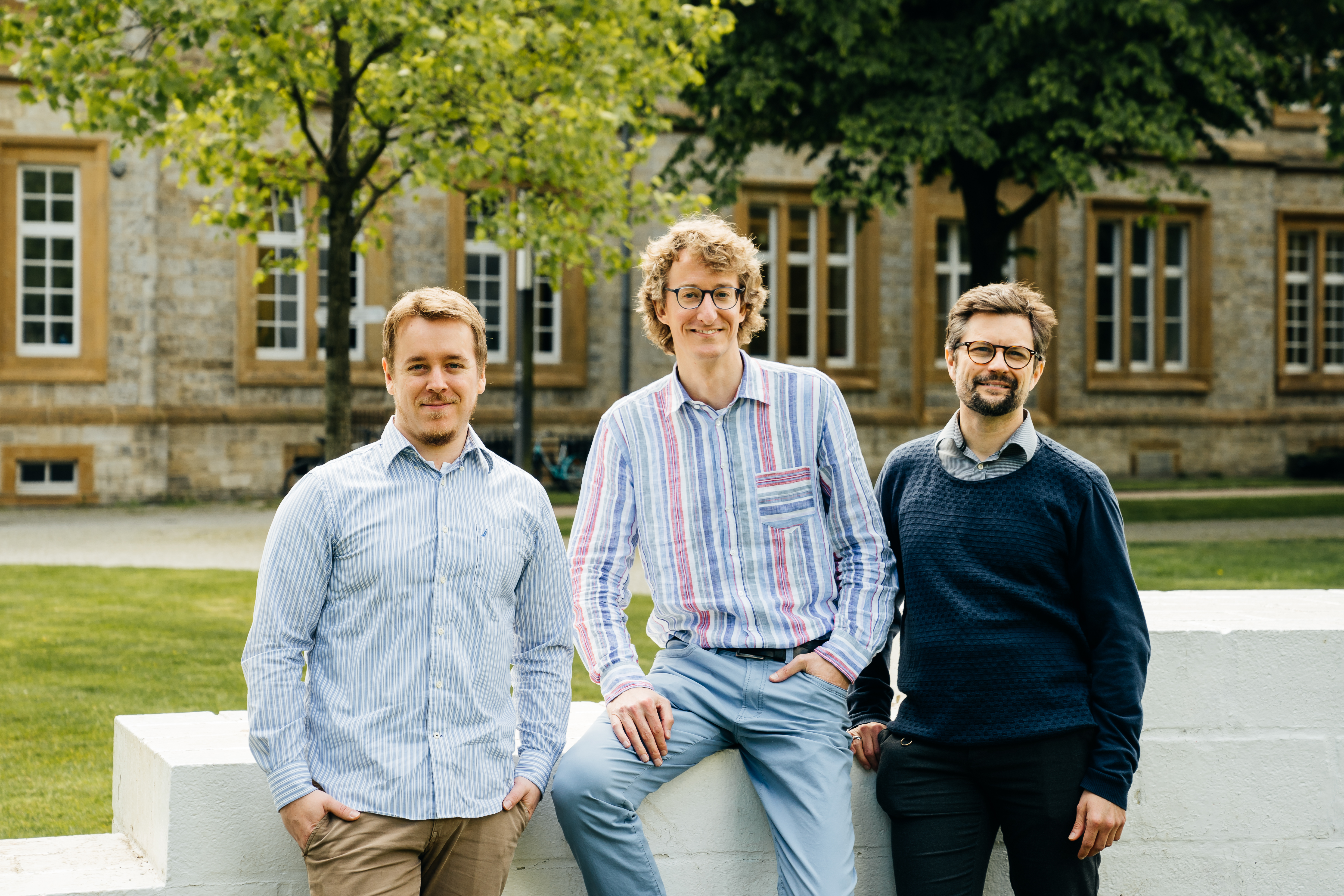 Semalytix Founders Janik Jaskolski, Matthias Hartung, Philipp Cimiano